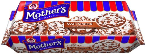 Mother's Iced Oatmeal Cookies 13.25 oz. Package