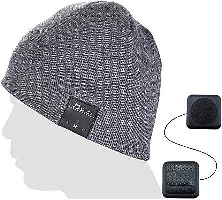 d805767248b Amazon.com  Coeuspow Bluetooth Music Beanie Cap