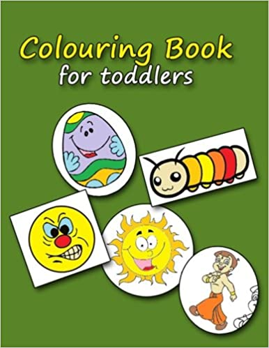 Coloring Book for Toddlers: Beautiful colored drawings for kids