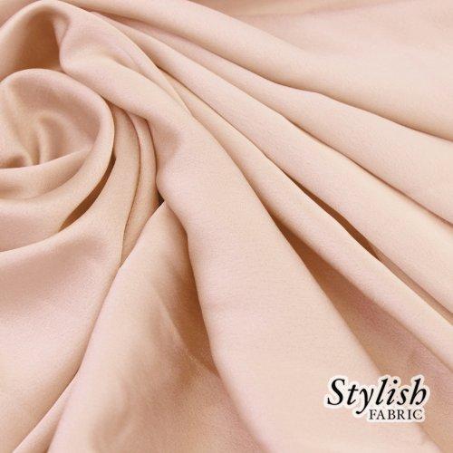 58 Blush Crepe Back Satin Fabric by the Bolt- 50 Yards by Stylishfabric   B00EUG29WC