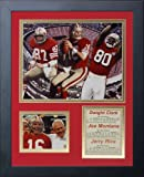 Legends Never Die San Francisco 49ers All Time Big 3 Framed Photo Collage, 11x14-Inch