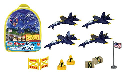 WowToyz F-18 Hornet Blue Angels Backpack -