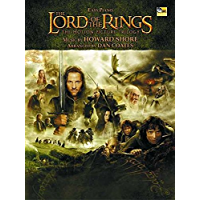 The Lord of the Rings for Easy Piano (English Edition)