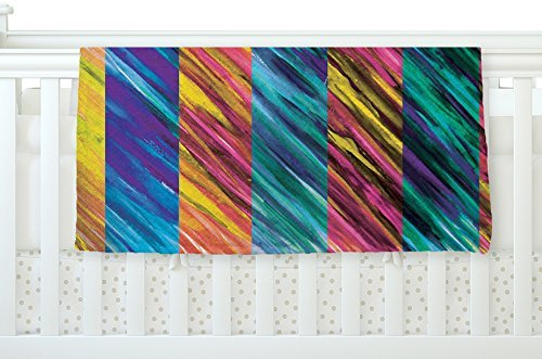 KESS InHouse Theresa Giolzetti Set Stripes I Fleece Baby Blanket 40 x 30 [並行輸入品]   B077ZT5Z4B