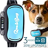GoodBoy Vibrating Shock Anti-Bark Training Collar with Rechargeable Battery - Small, Safe, Waterproof Design Controls Excessive Barking Humanely â Great for Small and Large Breeds (9+ lbs)