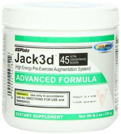Jack 3D avancées suppléments nutritionnels formule, pastèque, 230 GR