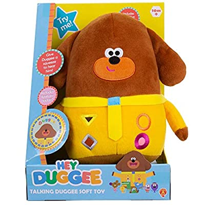 Golden Bear Soft Toy - Hey Duggee - Talking Duggee: Toys & Games
