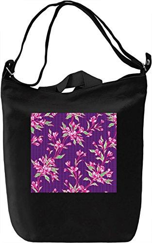 Texture Pattern Full Print Borsa Giornaliera Canvas Canvas Day Bag| 100% Premium Cotton Canvas| DTG Printing|