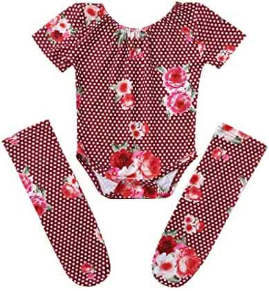 RoDeke Baby Girls Sleeveless Solid Color Lace Flower Print Backless Bow Pleated Clothes Outfits 0-24M