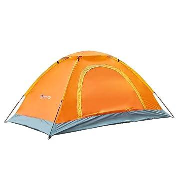 Portátil 1-2 Personas, Durable Tienda de Campaña de Respaldo Impermeable, Playa para Colorear, Anti UV Tienda Instantánea Parasol Caminata al Aire Libre ...