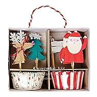 Meri Meri Be Jolly Christmas Cupcake Kit