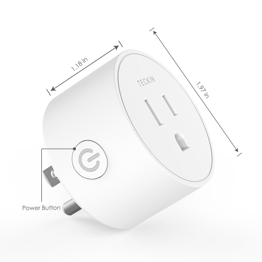 Smart Plug Mini Outlet Compatible with Amazon Alexa and
