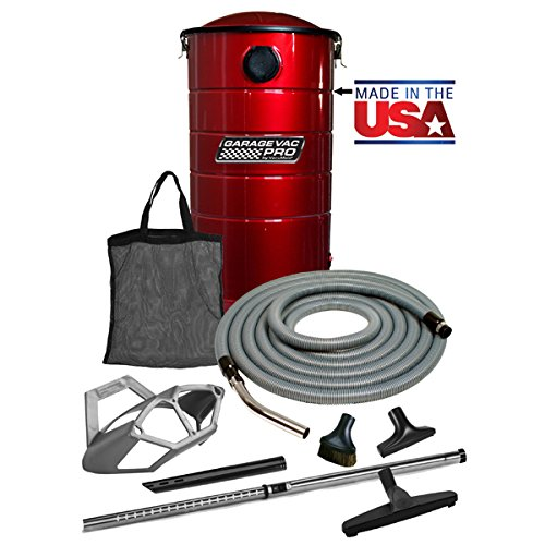 VacuMaid GV50RPRO Professional Wall Mounted Garage and Car Vacuum with 50 ft. Hose and Tools by VacuMaid (Image #8)