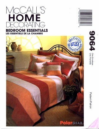 Amazon.com: McCall\'s 9064 Home Decorating Sewing Pattern Bed Covers ...