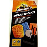 ArmorAll Ultimate Cleaning Solution Detailing Kit, 6 Items in Kit