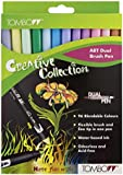 TOMBOW Fasermaler DUAL BRUSH PEN ABT, 12er-Set, Pastell-