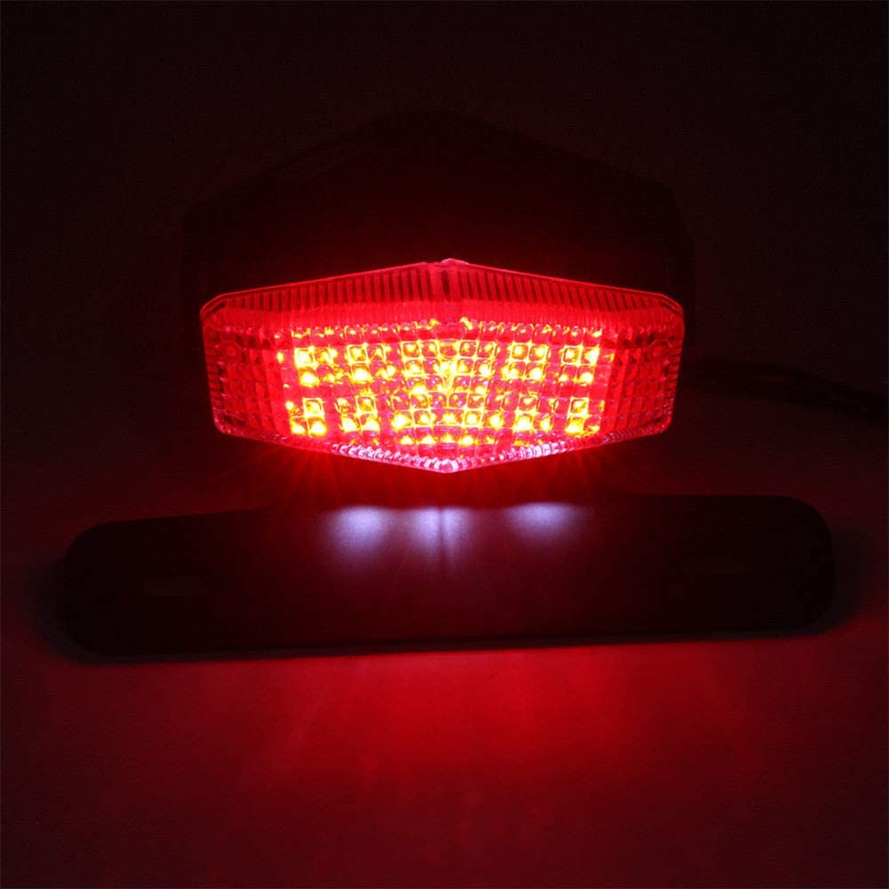 Smoke License Holder Bracket LED Brake Tail Lights Turn Singal For SUZUKI DRZ400 S//SM DR-Z 400 DRZ400SM DRZ400S DRZ DRZ400 Motorcycle Tail Tidy Fender Eliminator