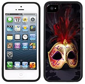 Carnival Mask Masquerade Handmade iPhone 5C Black Case