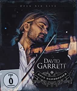 David Garrett - Rock Symphonies/Open Air Live [Alemania] [Blu-ray]