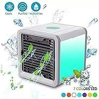 Mini Ar Condicionado Ventilador Portátil Usb