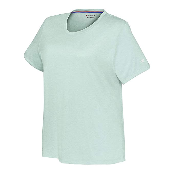 26f8ba6d Champion Women's Plus Size Double Dry Tee at Amazon Women's Clothing ...