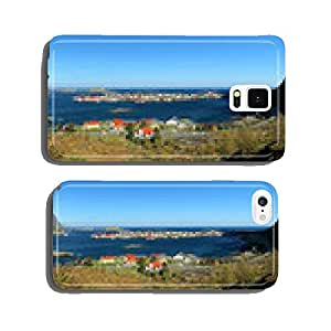 Panorama view of village Reine, Norway cell phone cover case iPhone6 Plus