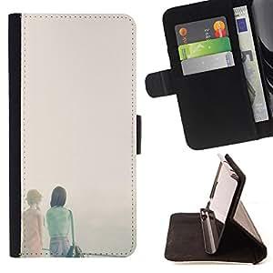 Jordan Colourful Shop - FOR Apple Iphone 6 PLUS 5.5 - mean you are wrong - Leather Case Absorci¨®n cubierta de la caja de alto impacto