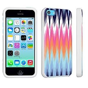 DuroCase ? Apple iPhone 5c Hard Case White - (Multicolor Pattern)