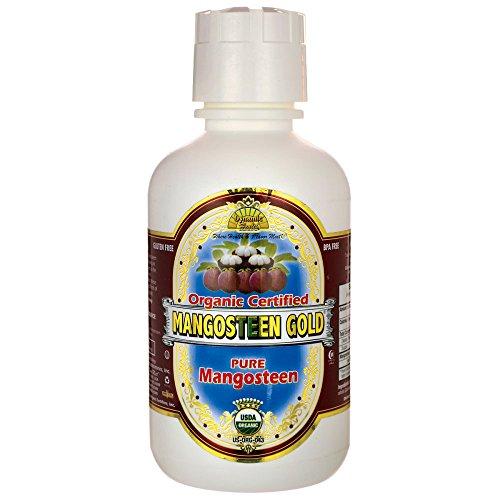 Dynamic Health Mangosteen Gold Juice,, 16-Ounce