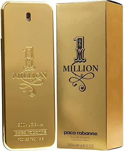 PACO RABANNE 1 MILLION by Paco Rabanne EDT SPRAY 6.7 OZ (Package Of 3)