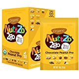 NuttZo Smooth Organic, Chocolate Peanut Pro, 6.7 Ounce (Pack of 10)