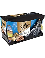 20% off Sheba Dome Cat Food Trays Favourites Collection in Gravy, 6 x 80 g (Pack of 5)