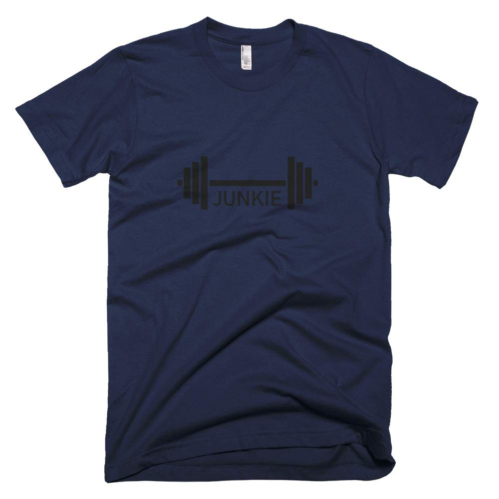 Ultra Comfortable Weightlifting Exercise T-Shirt Made in USA