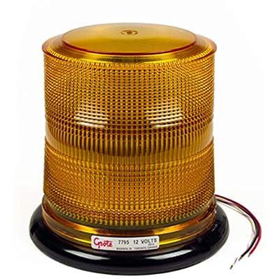Grote 77963 Class I LED Beacon (High Profile, 24V): Automotive