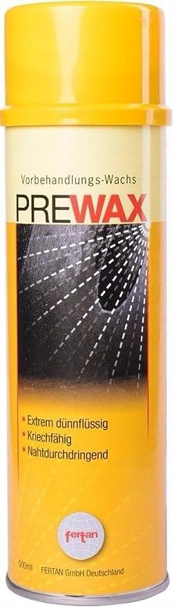 Pre Wax, 500 ml con sonda, vorbehandlungs de cera: Amazon.es: Coche y moto