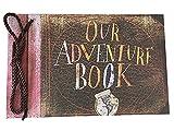 Immerguter Our Adventure Book Pixar Up Movie Handmade DIY Anniversary Scrapbook Family Photo Retro Album