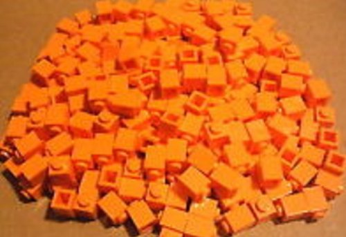 Parts Bricks (Lego Parts: 100 Orange Bricks 1x1)