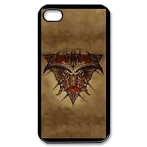 iPhone 4,4S Csaes Cover phone Case Diablo PHS8690995