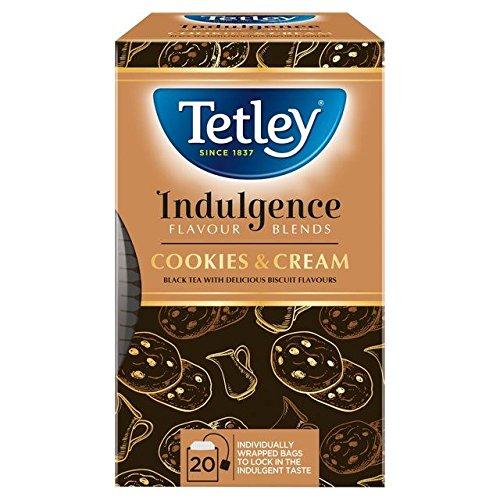 Tetley Indulgence Cookies & Cream Tea Bags - 20 per pack (0.09lbs)