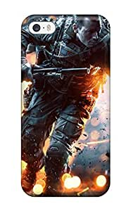 Hot Battlefield 4 China Rising First Grade Tpu Phone Case For Iphone 5/5s Case Cover