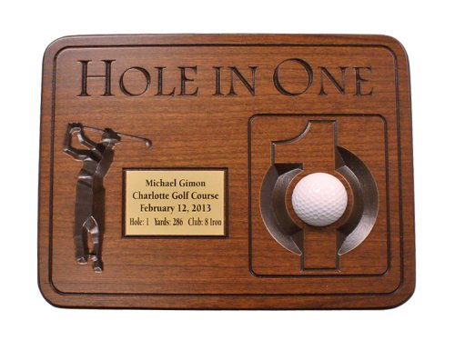 Golf Plaque - 3