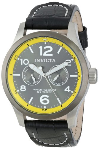 Invicta Men's 14141 I-Force Analog Display Swiss Quartz Black Watch
