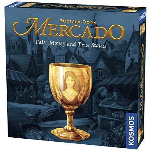 Thames & Kosmos Mercado A Family Board Game 2-4 Player | 30 Mins | Bidding | Highly Interactive [並行輸入品] B07SFDTZ8P