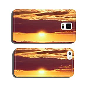 Driving on an empty road at sunset cell phone cover case iPhone6