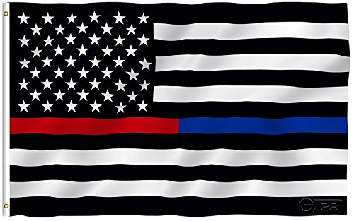 thin blue line red