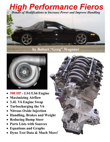 High performance fieros, 3.4l v6, turbocharging, ls1 v8, nitrous oxide (Ls1 Pontiac)