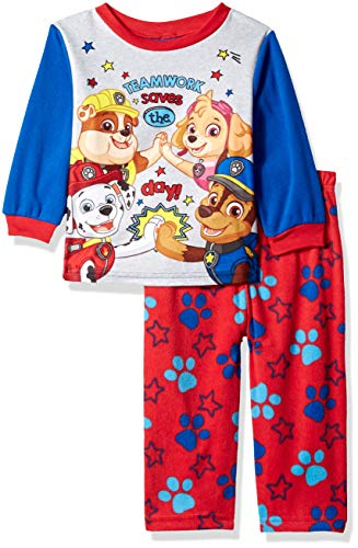 2ea6e5cfa8 Jual Nickelodeon Boys  Toddler Paw Patrol 2-Piece Fleece Pajama Set ...