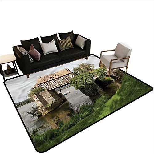 (Landscape,Floor Mat Entrance Doormat 60