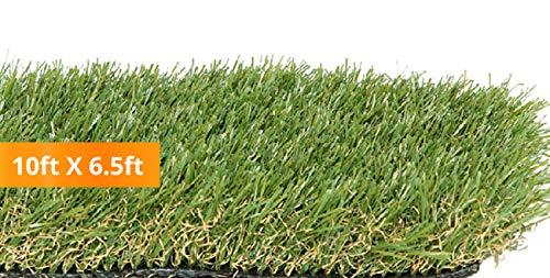PZG Premium Artificial Grass Patch w/ Drainage Holes &...