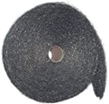 Case of Coarse Stainless Steel Wool, 5 x 5lb rolls / 25lbs